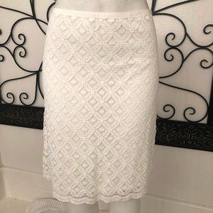 Max Studio Lace Skirt